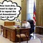 Obama Doesn't Need an EO To Repeal the 2nd Amendment