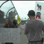 """Arrest the Lawless Usurper"""