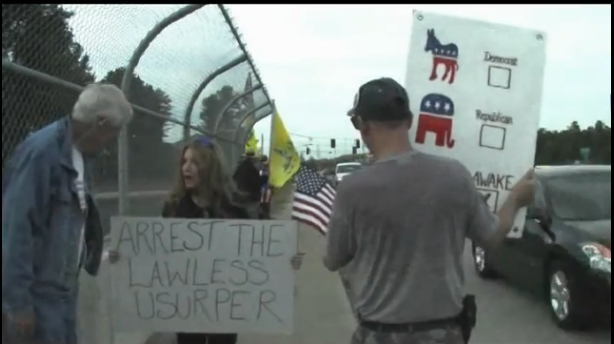 """Arrest the Lawless Usurper"""