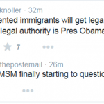 MSM Reporters Have Opportunity to Ask Tough Questions on Amnesty