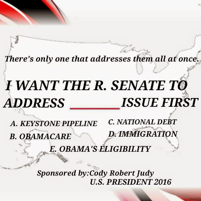 What Would You Like The Senate to Address First?