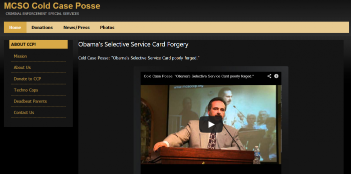 Cold Case Posse Website Restored