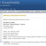 State of NH v William Baer – Case Dismissed