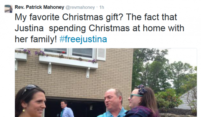Justina Pelletier is Home for Christmas