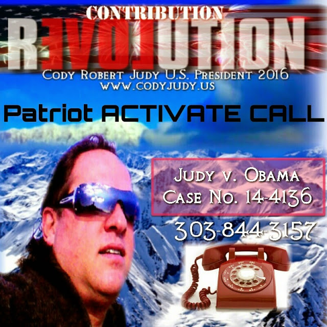 Breaking News Report & Patriot Activate Call Judy v. Obama Eligibility Case 14-4136