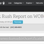 Erik Rush to Host WOBC Radio Friday Night
