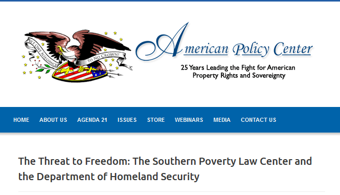 The Threat to Freedom:  The Southern Poverty Law Center