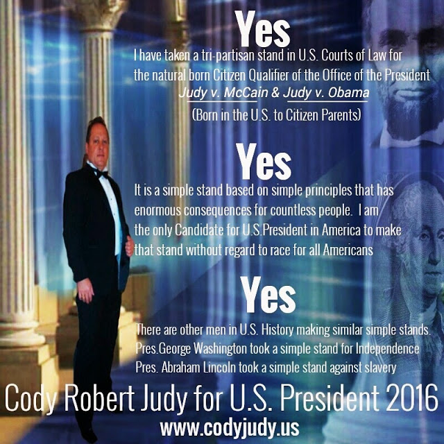 Breaking Report:  Judy v. Obama, Et Al, Results of Poll Just Came In