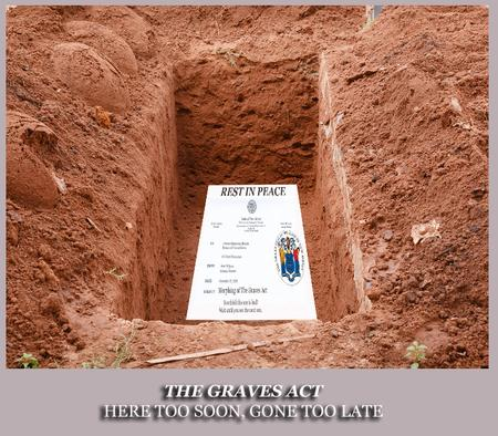 A Grave For the Graves Act pb