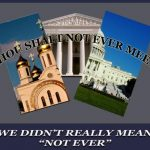 Separation of Church and State:  Only When It's Convenient?