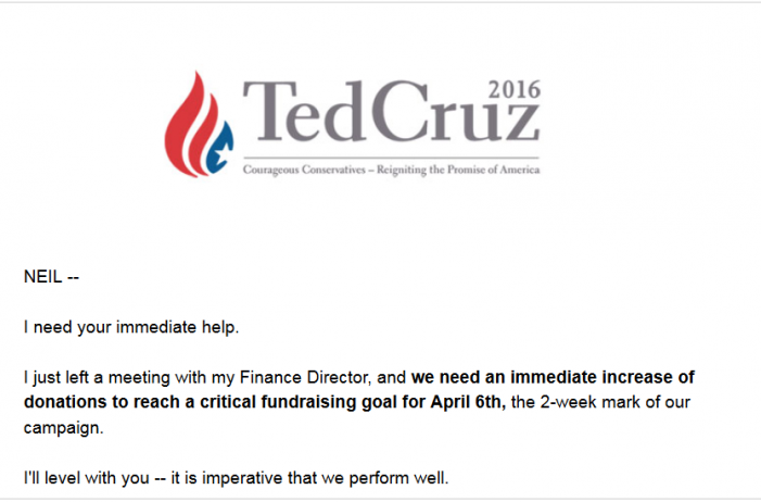 """Ted Cruz Asks, """"Can I Count on You?"""" pb"""