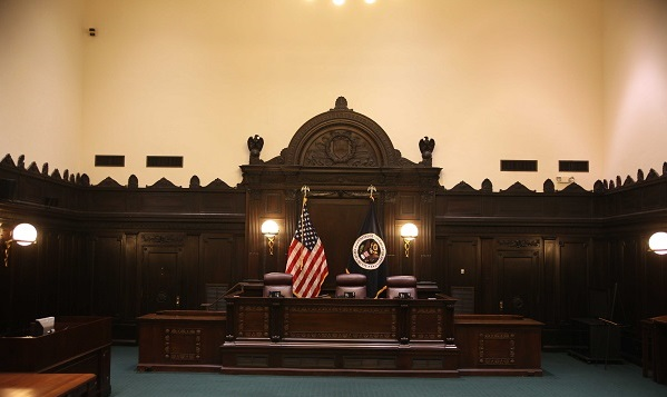 West courtroom Fifth Circuit