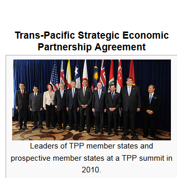 TPP:  Ever-Expanding Complexities of World Trade and Government Policies pb