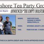 "Bayshore Tea Party Group Announces ""The Empty Holster Rally"""