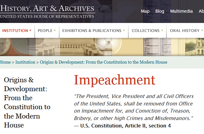 Why Impeach, Why Now and How