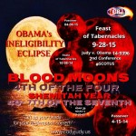 Blood Moons – End of the Tetrad September 28th