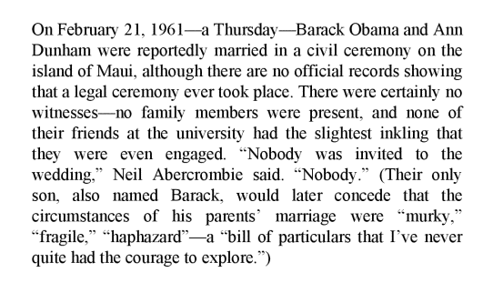 Christopher Andersen Michelle and Barack p40 marriage snip