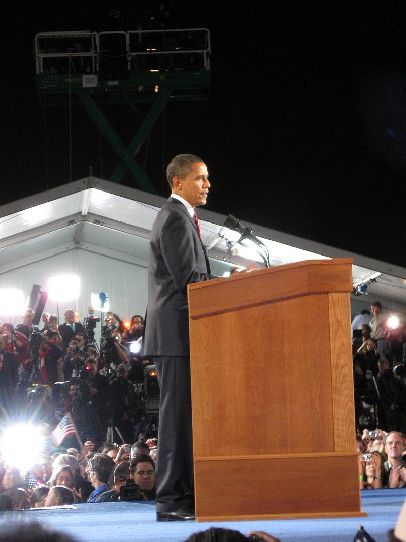 Obama Grant Park November 4 2008