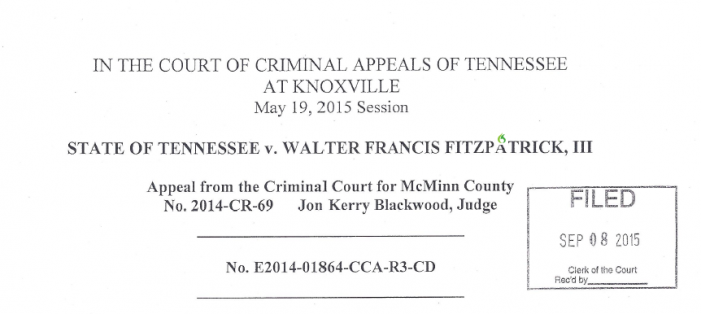 "Tennessee Appellate Court Opines Grand Jury ""Bias"" Acceptable"
