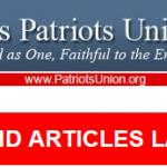 Breaking:  Articles of Impeachment Action Item!