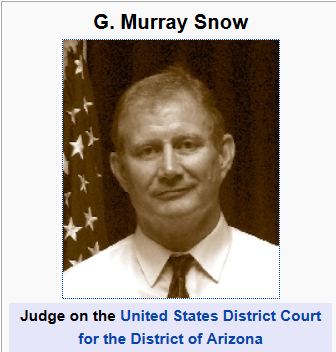 Did Judge Snow Just Tip the Government's Hand on Arpaio, Zullo?