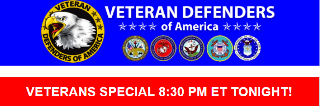 Special Veterans Call to Action Tonight!