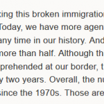 "Why Does Obama Advocate for ""Immigrants"" So Much?"