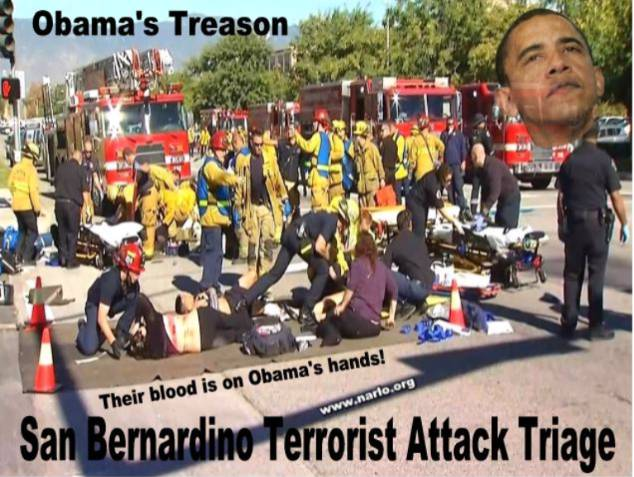 The American Blood Spilled in San Bernardino is on Obama's Hands