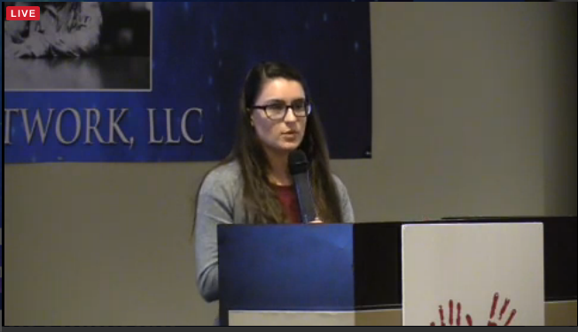 "16-Year-Old Speaks About Her Organization of High School Pro-Life Club at ""It's About the Child"""