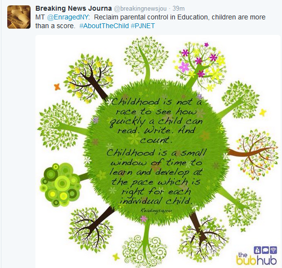 """Continuous Colorful and Imaginative Tweets Issued Promoting """"It's About the Child"""" Conference"""
