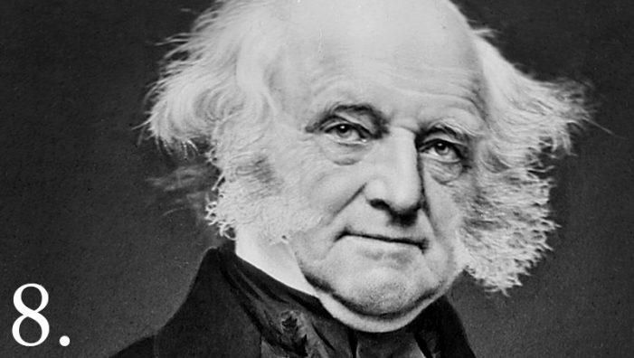 "Why Was Martin Van Buren the First ""natural born Citizen"" President?"