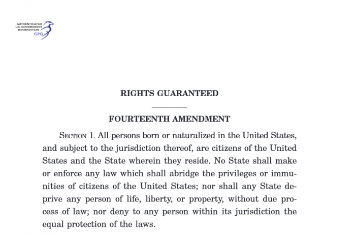 This Is Scary – 'President' Cruz Would Not Constitutionally be 'Subject to The Jurisdiction' of The United States of America