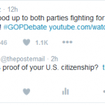 Ted Cruz Ignores Question About U.S. Citizenship