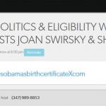 Talking Politics & Eligibility with Columnists Joan Swirsky & Sher Zieve