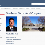 """Report:  NWCX Inmate """"Hit Repeatedly in the Face"""" by Correction Officer"""