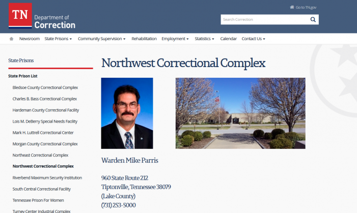 "Report:  NWCX Inmate ""Hit Repeatedly in the Face"" by Correction Officer"