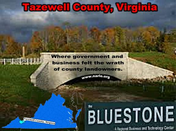 Don't Mess With the Landowners of Tazewell County