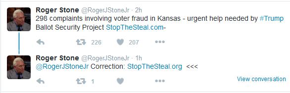 Report:  Over 200 Eyewitnesses Observe Voter Fraud in Kansas