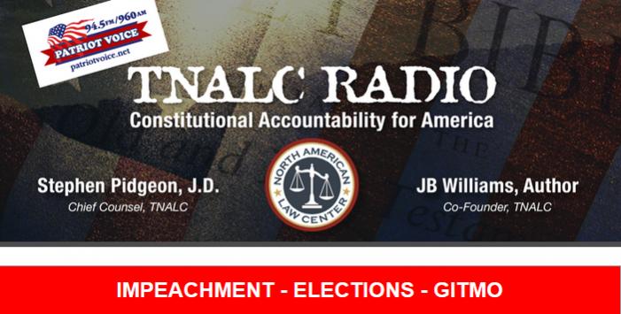 TNALC Radio Tonight at 5:00 p.m. ET