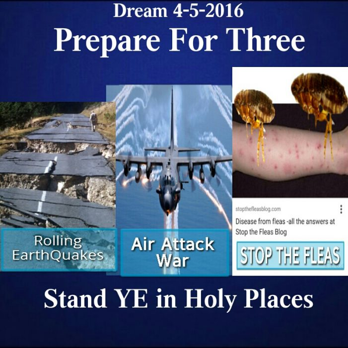 Prepare for Three Stand Ye in Holy Places