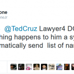 Trump Ally Associates Ted Cruz with DC Madam Patrons List