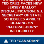 GOP Presidential Candidate Challenges Cruz's Eligibility in Nine States