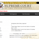 U.S. Supreme Court Denies Request from DC Madam Former Attorney to Lift Restraining Order