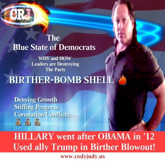 Birther Bombshell:  Hillary Went After Obama in '12, Used Ally Trump