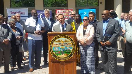 Mayor Ganim Launches 2nd Chance Society Initiative to Employ Ex-Offenders