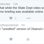 "White House Justifies ""Edited"" Video"