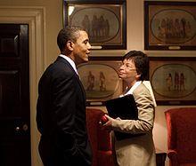 Obama and Jarrett