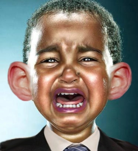 What Seems to be the Problem, Mr. Soetoro 'Crybaby' Obama?
