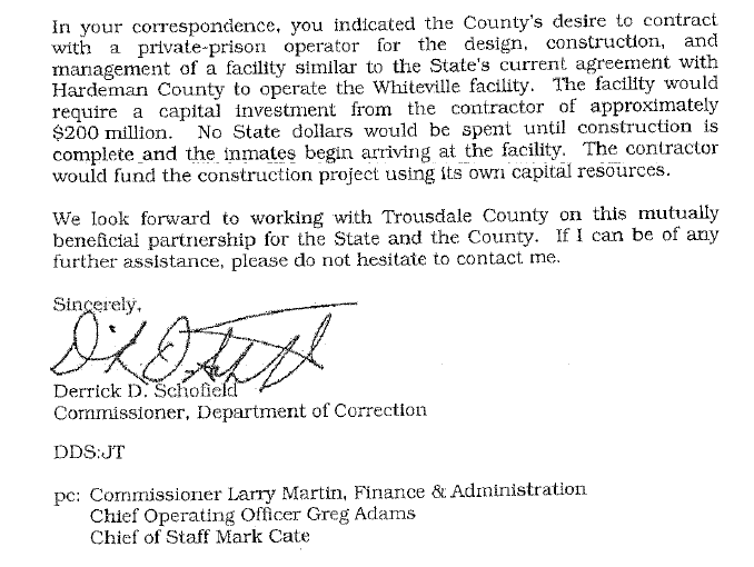 "New Prison in Hartsville Deemed an ""Economic Development Opportunity"""
