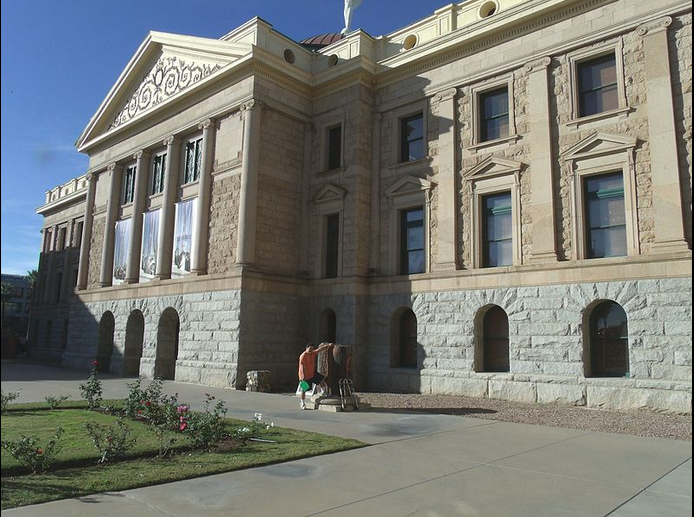 Pro-Police Supporters Invited to Gather at Arizona State Capitol Tonight at 7:00 p.m. to See Its Dome Lit in Blue